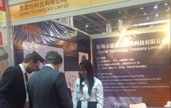 某德国客户到我司展位上参观(上海MIM展)